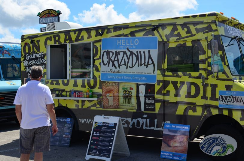 Crazydilla, Food Truck Invasition Tradition, Port St Lucie, FL