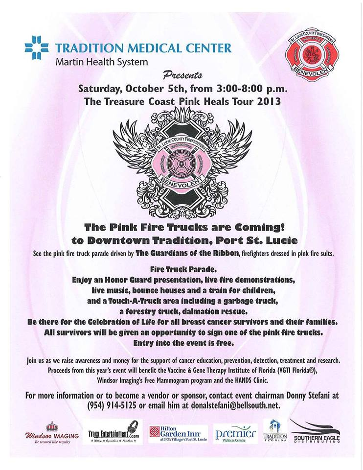 Pink Heals Tour Event in Tradition