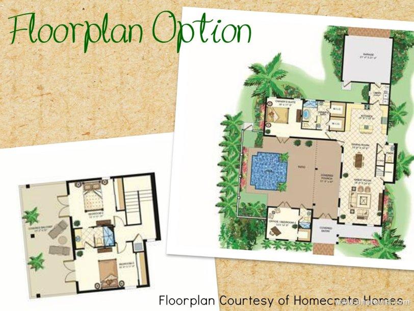 Westcliffe Estates Homecrete Homes Floorplan