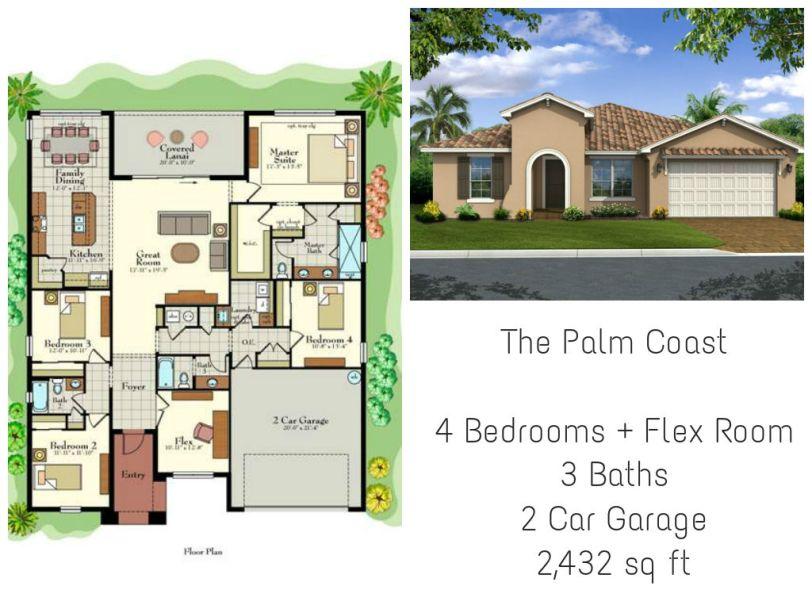 Vitalia Palm Coast Model