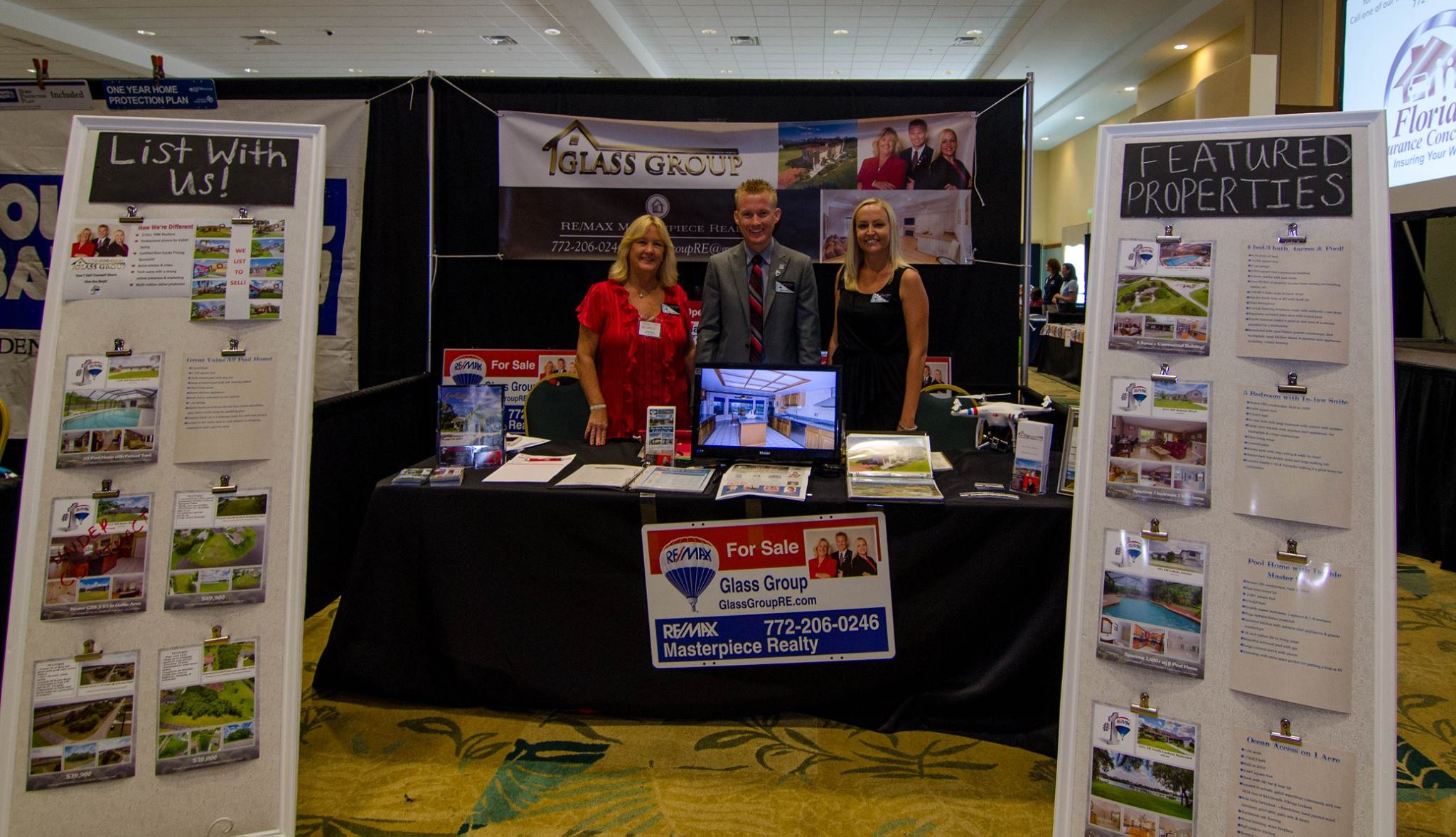 Property Exhibition Booth : Treasure coast real estate expo tradition fl