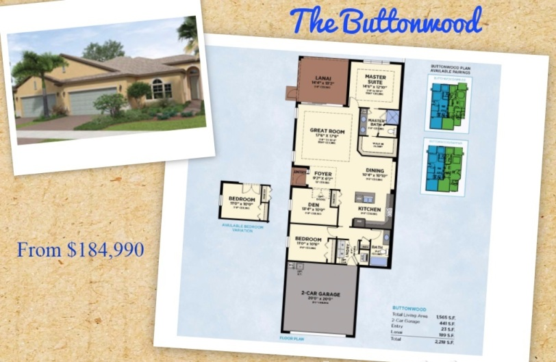 The Buttonwood Model at Lake Park